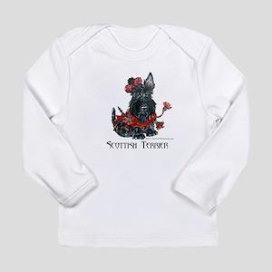 Celtic Scottish Terrier Long Sleeve Infant T-Shirt