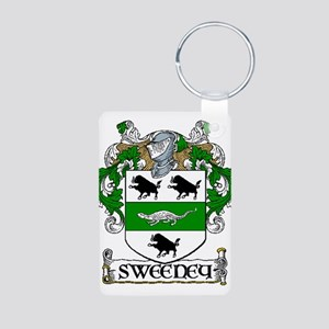 Sweeney Coat of Arms Aluminum Photo Keychain