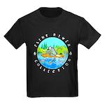 """River Rat"" Kid's Dark T-Shirt"