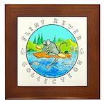 """""""River Rat"""" Framed Tile"""