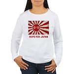 Japanese Flag Women's Long Sleeve T-Shirt