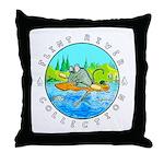 River Rat Throw Pillow