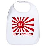 Help Hope Love Bib