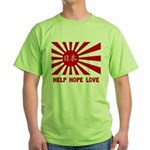 Help Hope Love Green T-Shirt