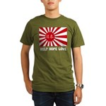 Help Hope Love Organic Men's T-Shirt (dark)
