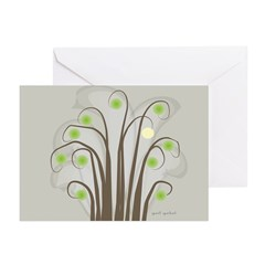 Absract Tree Art Greeting Cards (Pk of 20)
