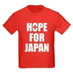 Hope for Japan 2011 Kids Dark T-Shirt