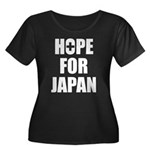 Hope for Japan 2011 Women's Plus Size Scoop Neck D