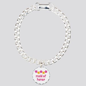 Maid Of Honor Tropical Charm Bracelet, One Charm
