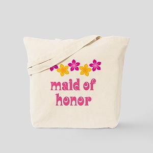 Maid Of Honor Tropical Tote Bag