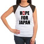 Hope for Japan 2011 Women's Cap Sleeve T-Shirt