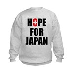 Hope for Japan 2011 Kids Sweatshirt
