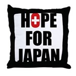 Hope for Japan 2011 Throw Pillow