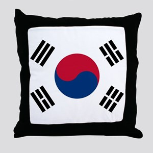 Korean Flag Throw Pillow
