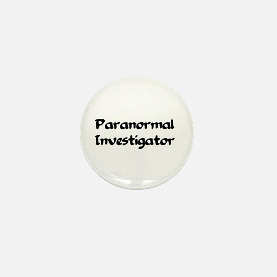 Cute Paranormal investigator Mini Button