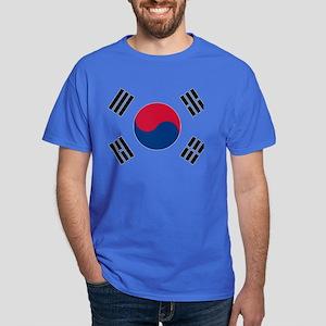 Korean Flag Dark T-Shirt