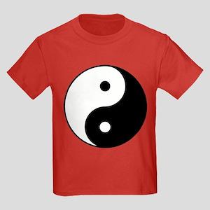 Yin Yang Kids Dark T-Shirt