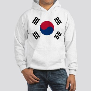 Korean Flag Hooded Sweatshirt