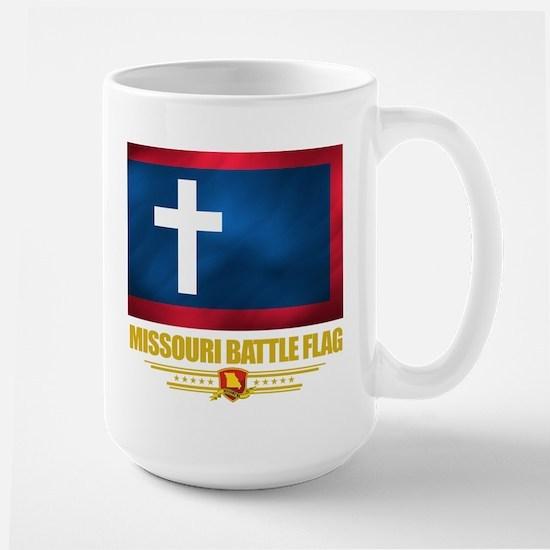 Missouri Battle Flag Large Mug