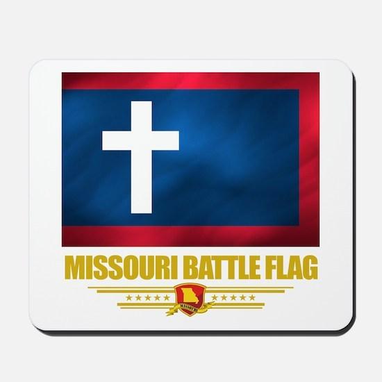 Missouri Battle Flag Mousepad