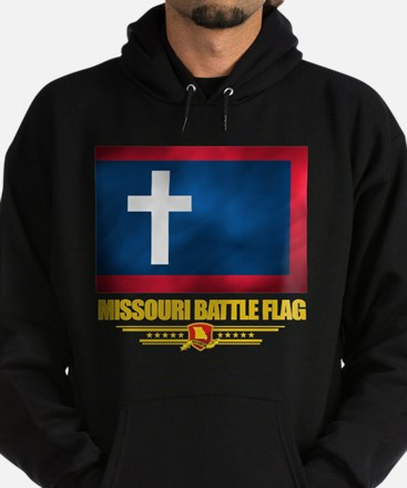 Missouri Battle Flag Hoodie (dark)