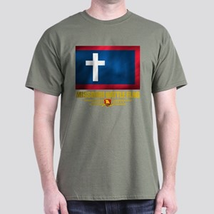 Missouri Battle Flag Dark T-Shirt