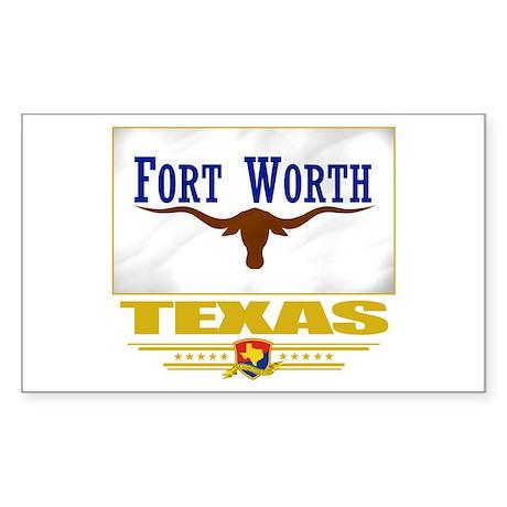 Fort Worth Pride Sticker (Rectangle)