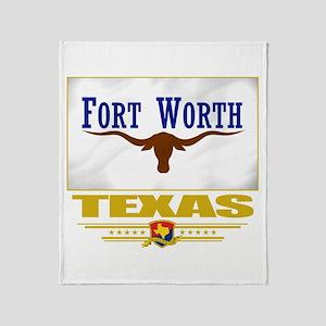Fort Worth Pride Throw Blanket