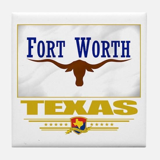 Fort Worth Pride Tile Coaster