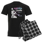 Babebraham Lincoln Men's Dark Pajamas