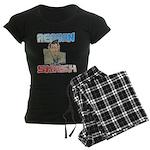 Reagan Smash Women's Dark Pajamas