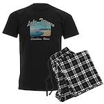 Lake Titicaca '94 Men's Dark Pajamas
