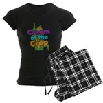 Cream of the Crop Women's Dark Pajamas