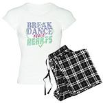Break Dance not Hearts Women's Light Pajamas
