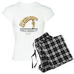 Well Hung Women's Light Pajamas