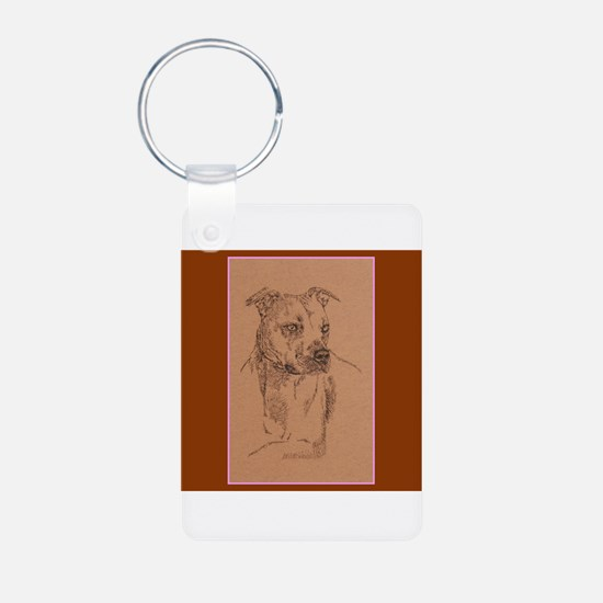 American Pit Bull Terrier Keychains