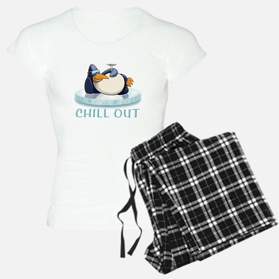 Chill Out Penguin Pajamas