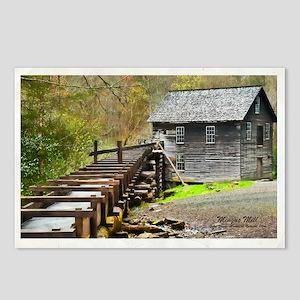 Smokies Mingus Mill Postcards (Package of 8)