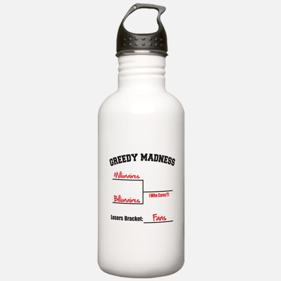 Greedy Madness Water Bottle