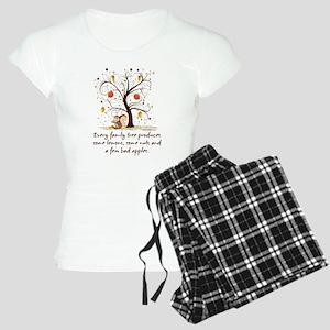 Family Tree Humor Women's Light Pajamas