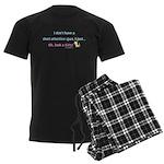 Short Attention Span Kitty Men's Dark Pajamas