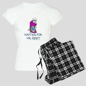 Waiting for Mr.Right Women's Light Pajamas