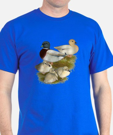 Pastel Call Duck Family T-Shirt
