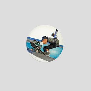 Pool Skate Mini Button