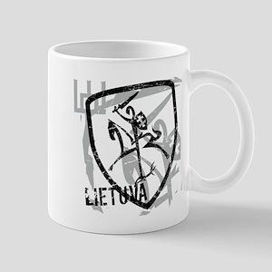 Distressed Vytis and Lietuva Mug