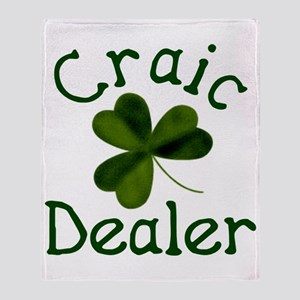 Craic Dealer Throw Blanket