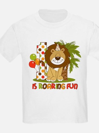 Cute Lion 1st Birthday T-Shirt