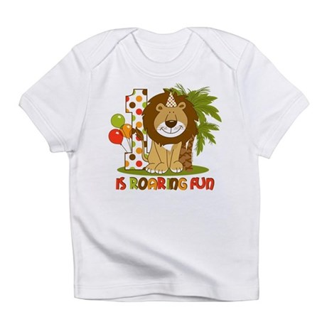 Cute Lion 1st Birthday Infant T-Shirt