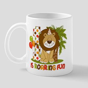Cute Lion 1st Birthday 11 oz Ceramic Mug