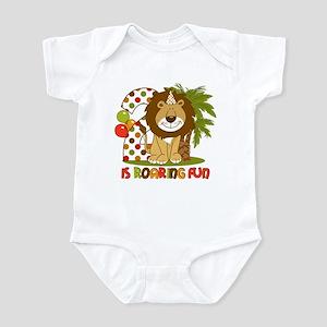 Cute Lion 2nd Birthday Infant Bodysuit